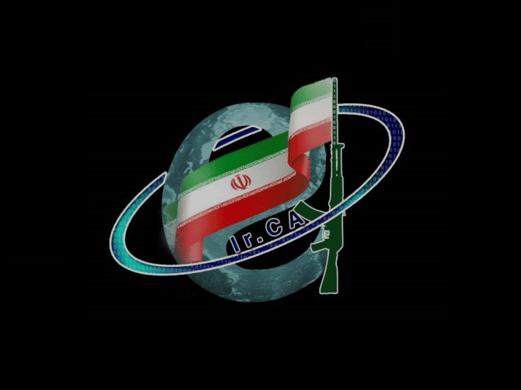 Iran war flag