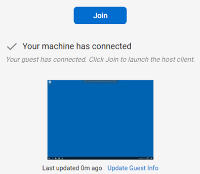ScreenConnect Join Machine
